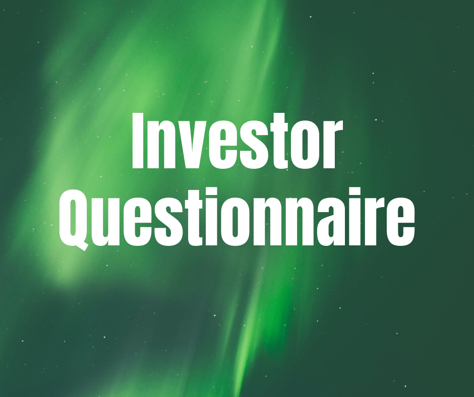 Investor Questionnaire