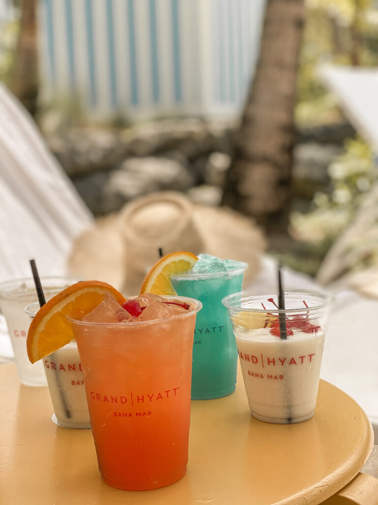 Grand Hyatt Baha Mar pool Drinks