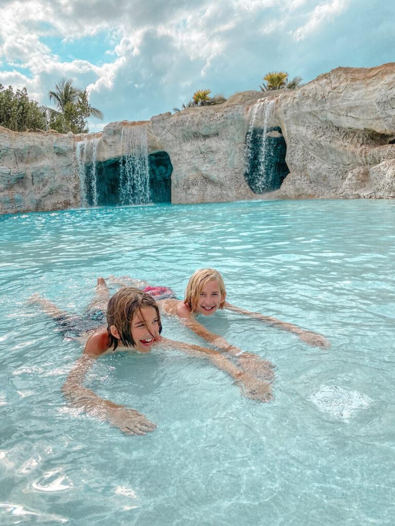 Dean's Blue Hole Pool Grand Hyatt Baha Mar