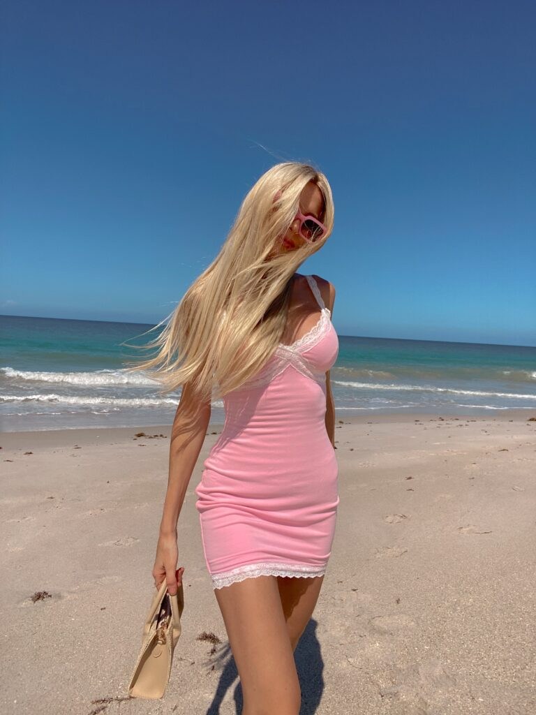 REVOLVE-Superdown-Charlee-Lace-Mini-Dress- summer outfits vacation outfits what to pack for your beach vacation