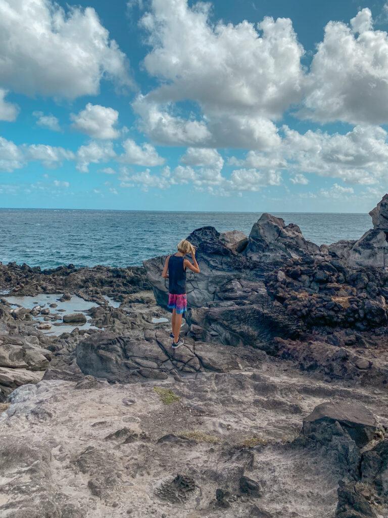Kapalua Coast trail Kapalua Bay Maui Hawaii Hiking , Hikes, Kid friendly Hikes Maui Beaches  , Best Maui Hikes