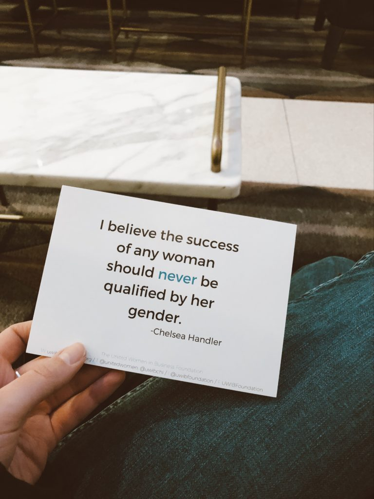 Postcard with a Quote by Chelsea Handler