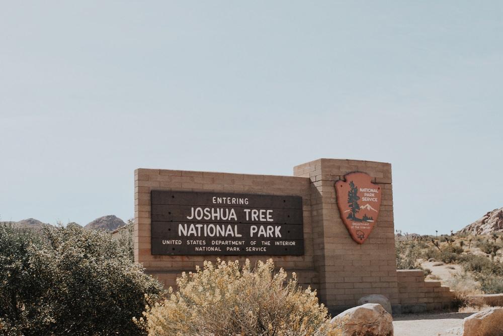 Joshua Tree National Park Entrance Sign