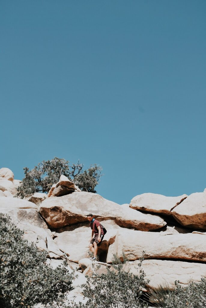Bouldering at Joshua Tree National Park