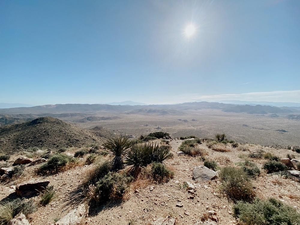 Views from the Ryan Mountain Summit