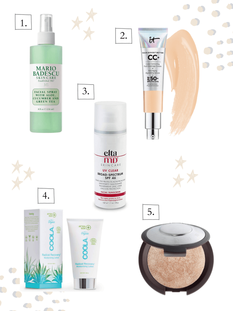 Beauty products to keep your healthy and protected from the sun