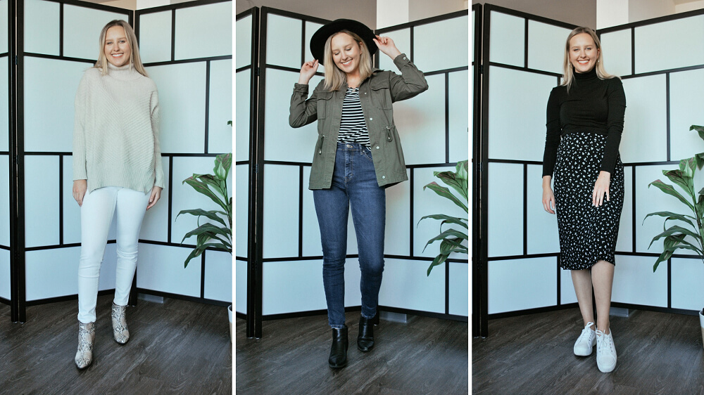 Three Fall Outfits