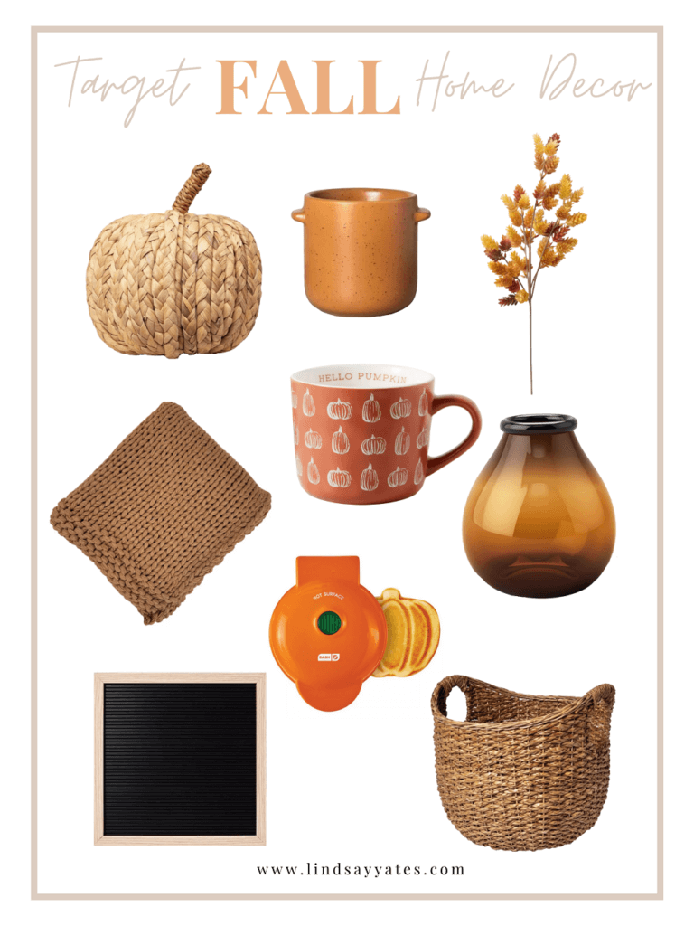 Target fall decor items that invite autumn into your apartment