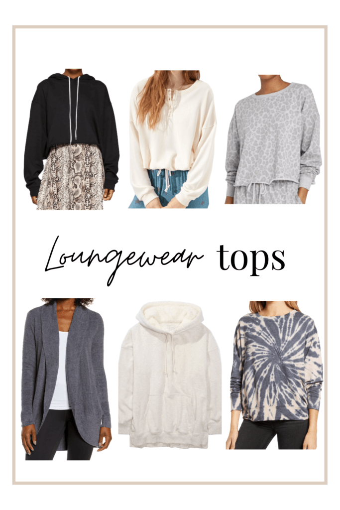 Comfy loungewear tops to wear at home this winter