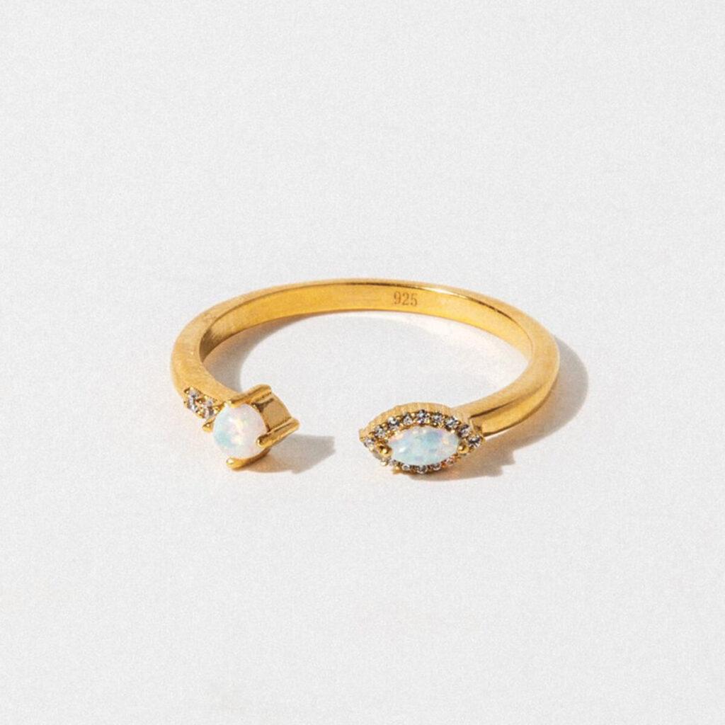 Child of Wild bella vie gold ring