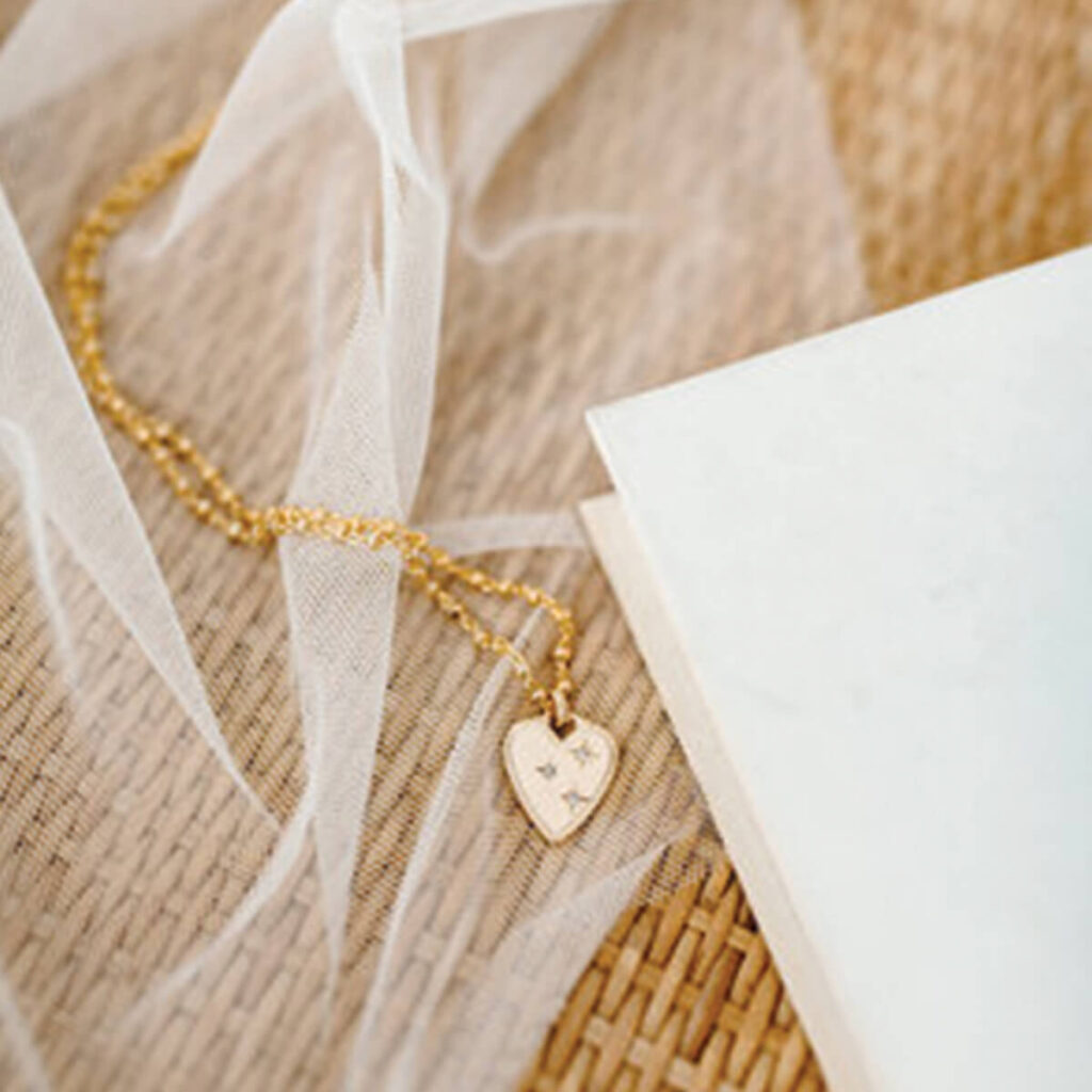 Goldy Club San Diego amor gold necklace