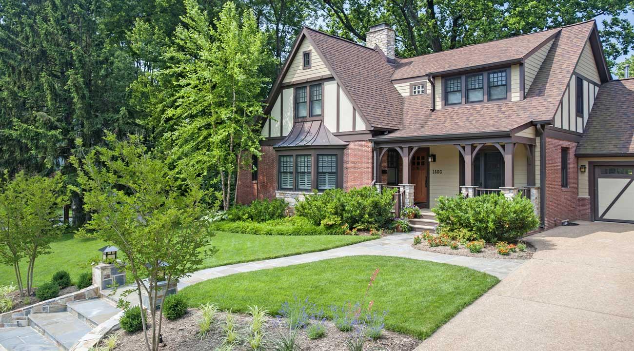 Tudor Craftsman Residence Arlington, VA