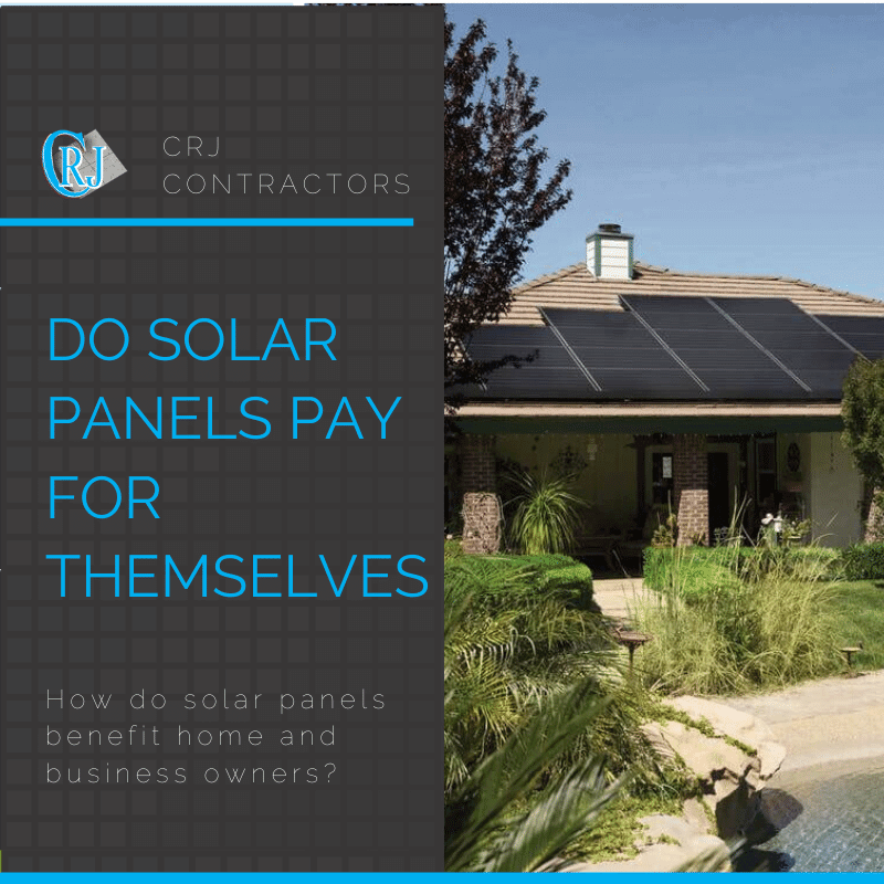 featured photo showing do solar panels pay for themselves