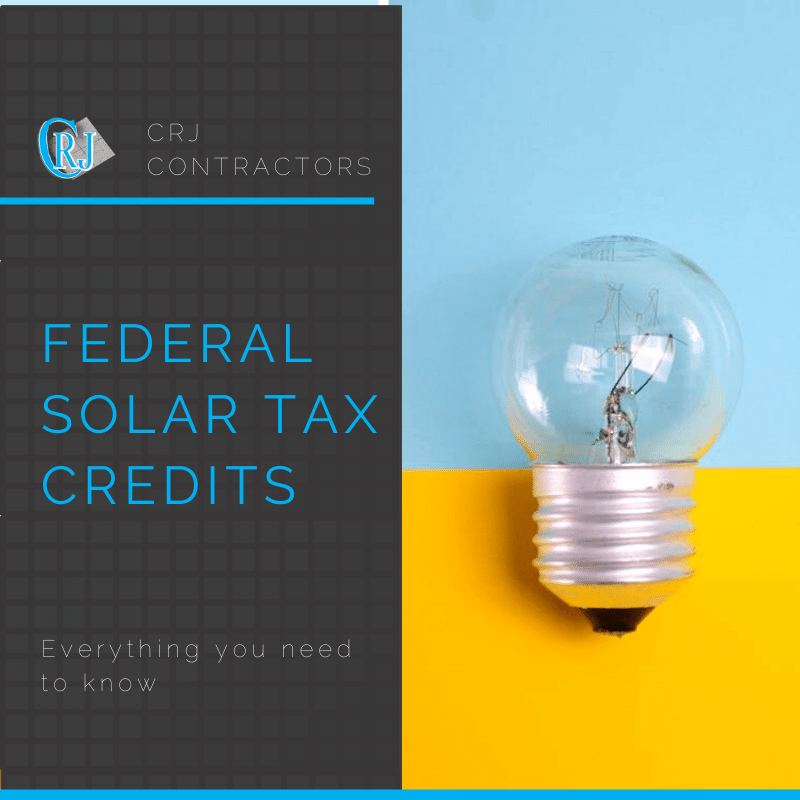 featured photo showing how the federal solar tax credit works