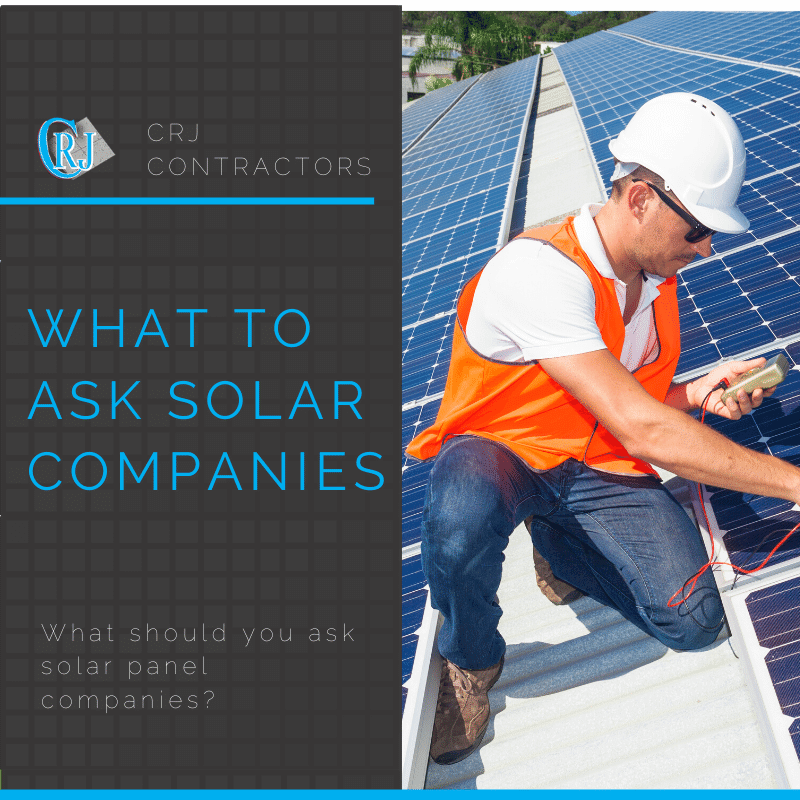 featured photo showing what to ask solar companies