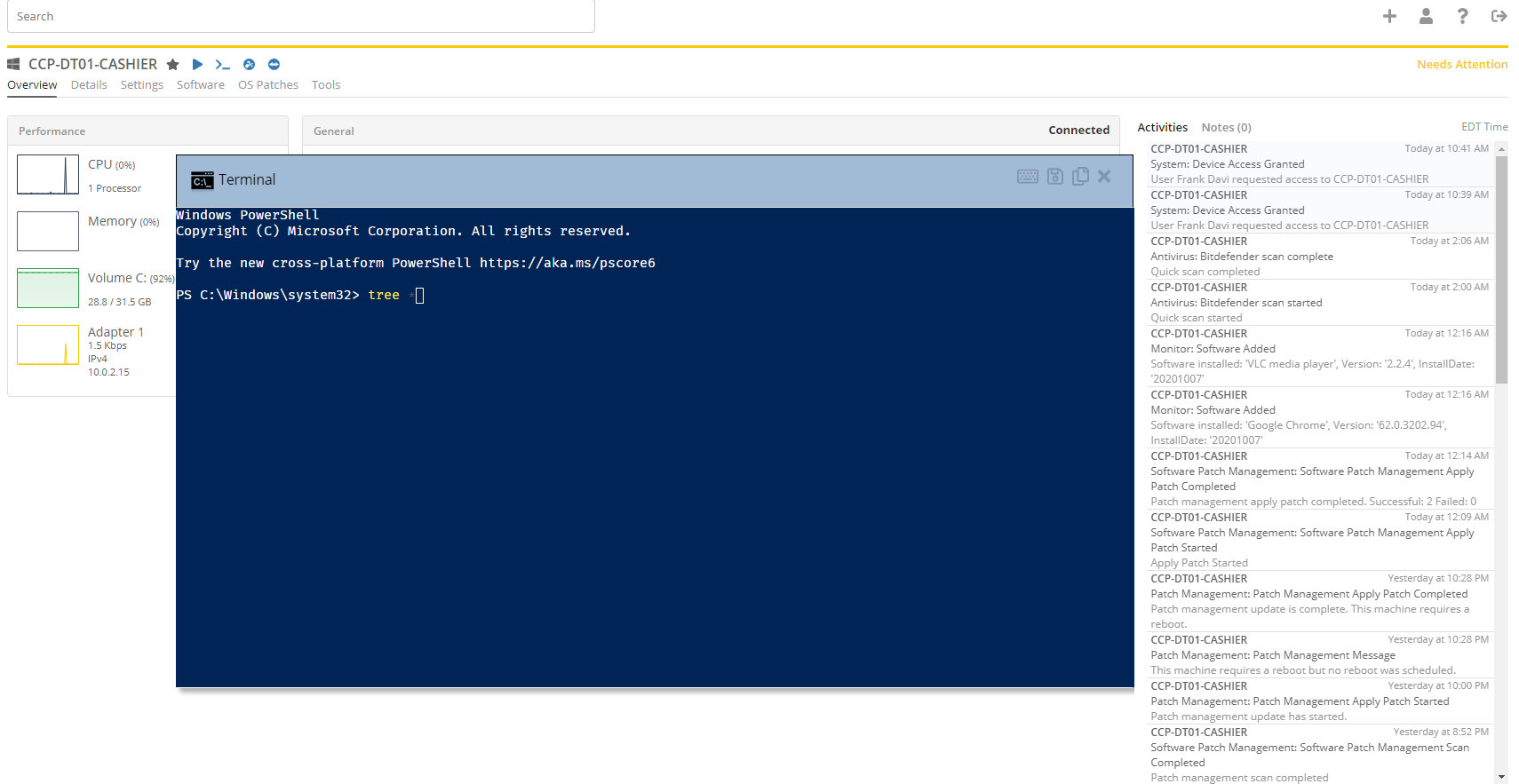 PowerShell MSP Managed IT Services