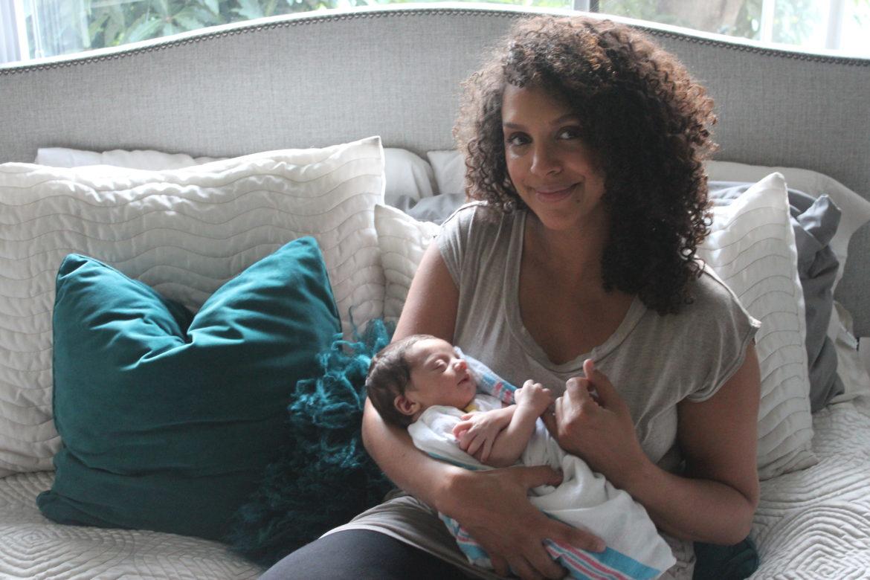 Matteo & Mommy Rochelle