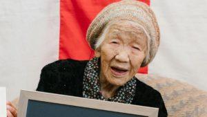 La anciana se encuentra en el mejor momento de su vida, segun sus declaraciones