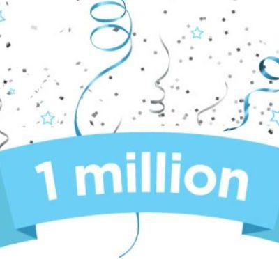 1 Million Views on Activerain – Hitting a Milestone