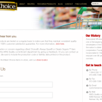 example of a website contact us page