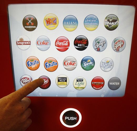 CocaCola freestyle machine