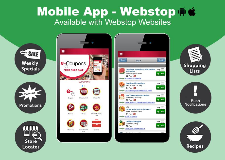 Mobile Apps for WebStop websites.