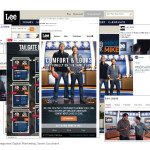 Lee Jeans Integrated Marketing Graphic