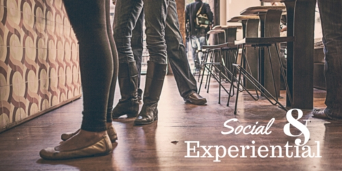 Social & Experiential - people standing in line