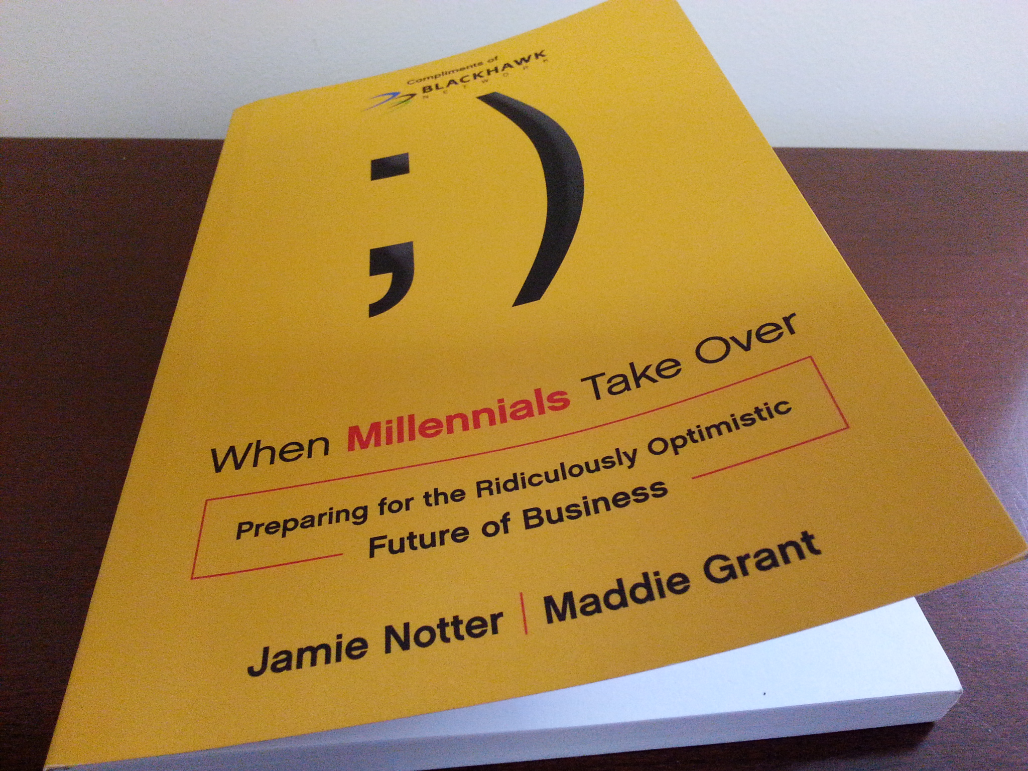 Book cover of When Millennials Take Over