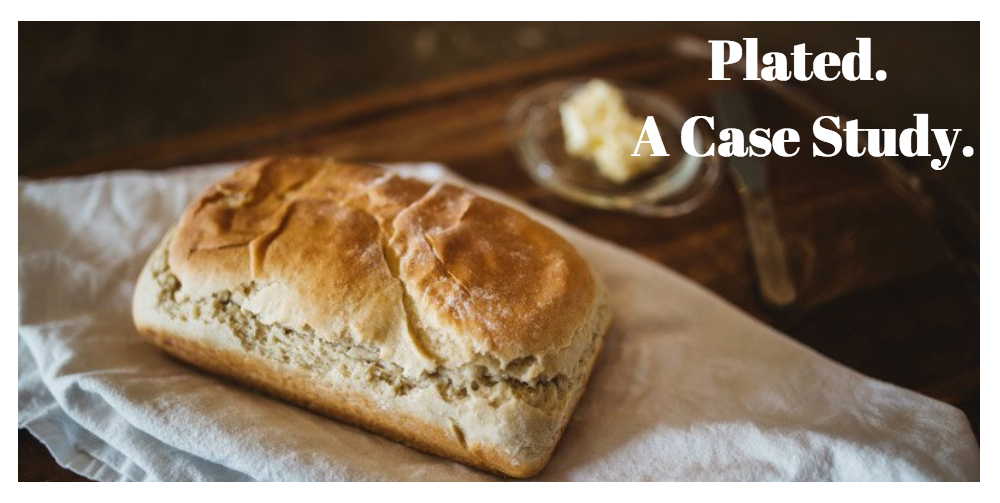 Header photo. Loaf of bread - Plated. A Case Study