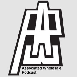 Logo: AWP - Associated Wholesale Podcast