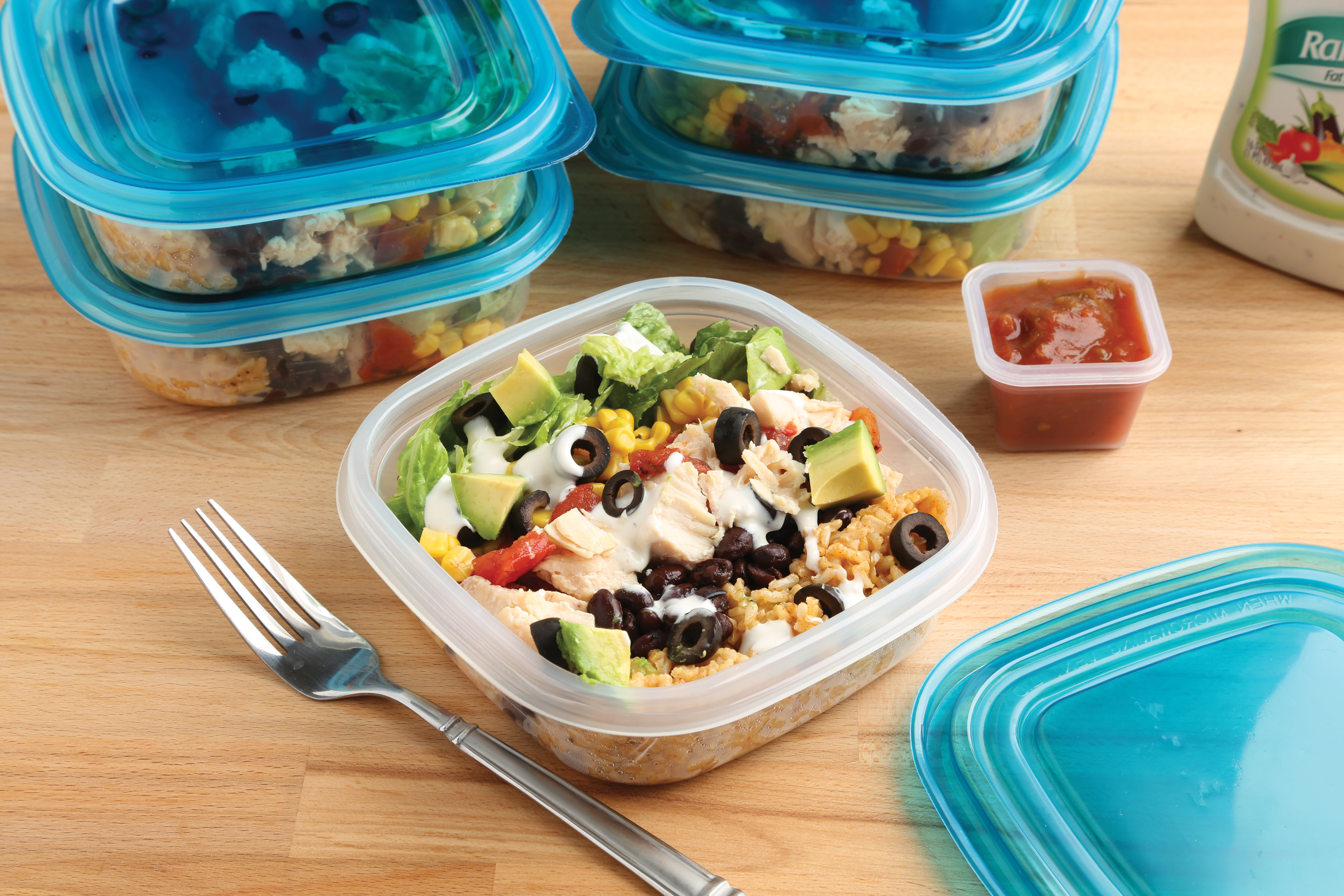 Chicken Burrito Lunch Bowls - Best Choice Recipe Video of January
