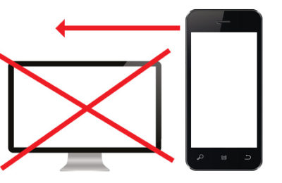 Mobile First graphic
