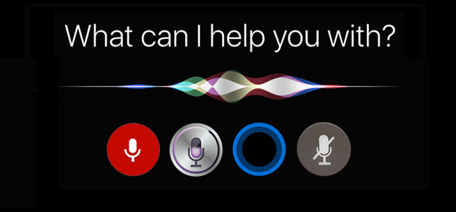 """Voice activated """"What can I help you with?"""""""