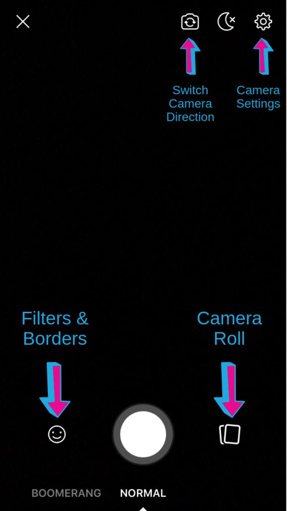 Facebook Story Camera