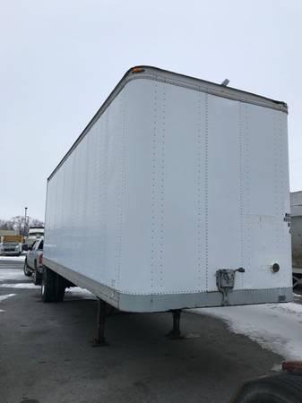 1984 Fruehauf Dry Van Trailer (Pocatello) $4000
