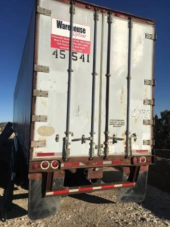 45' semi van storage trailer (Penrose) $2200