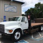 Ford F series 16 ft Flat Bed With Lift Gate 5.9 Cummins 26,000 lb  GVW (woodbridge) $6500
