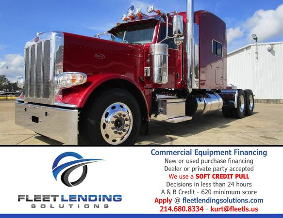 Trucks, Trailers, AG & Construction Equipment Financing (Las Vegas)