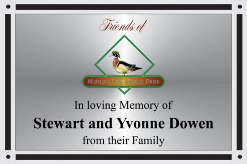 Dowen Family Plaque