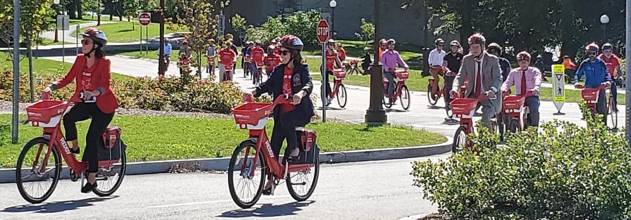 Reddy Bike Share Riders