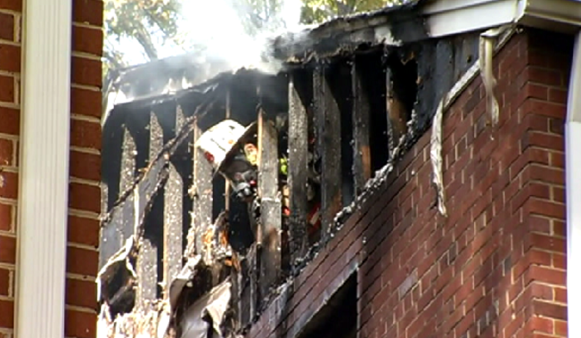 Park Wayne Apartment Fire in Silver Spring