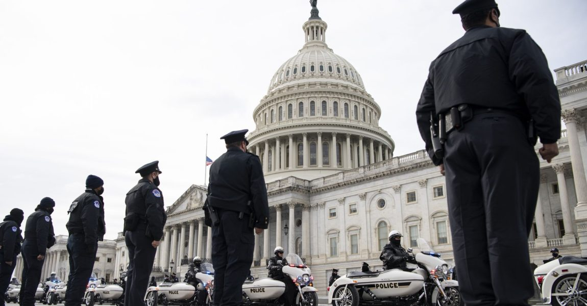 Officers honored for responding to Capitol riots