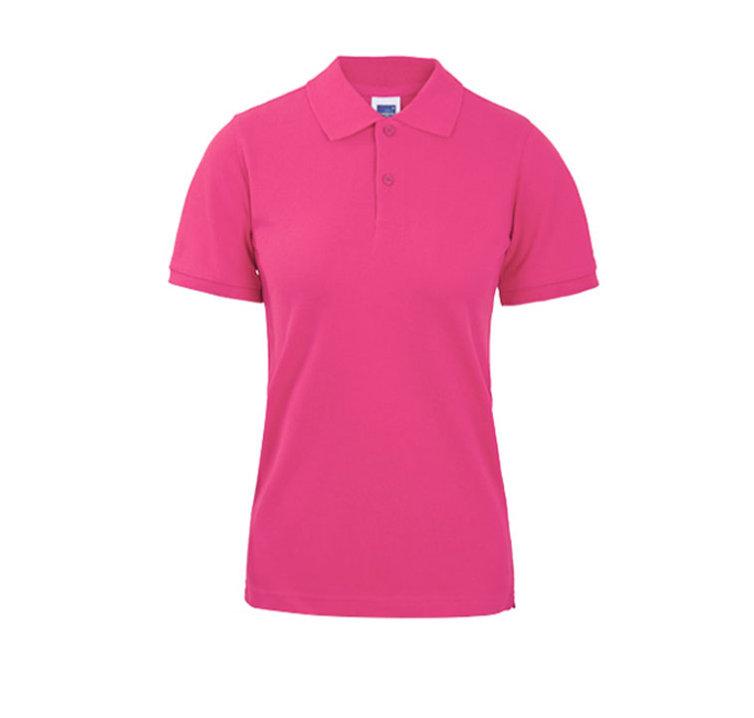 BLANK KING 230g 高品質全棉珠地女裝短袖POLO恤