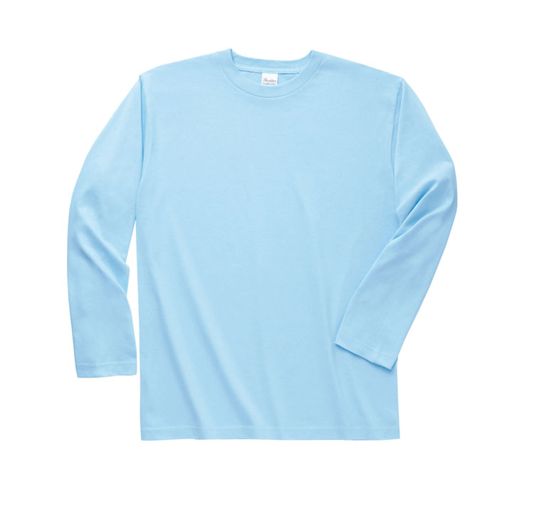 PRINTSTAR 190g 高品質全棉平紋成人長袖圓領T恤