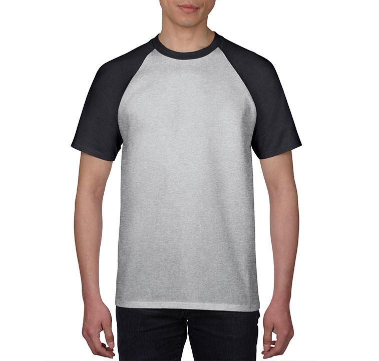 GILDAN 180g 全棉平紋成人短袖圓領牛角T恤