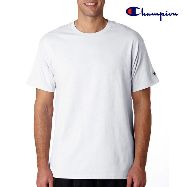 CHAMPION 200g 全棉平紋成人短袖圓領T恤