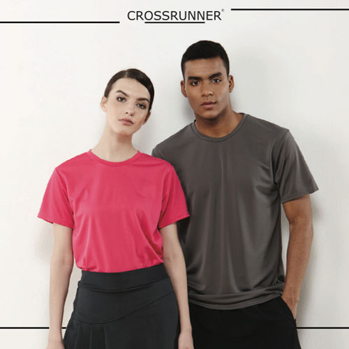 CROSSRUNNER 160g 防UV高效排汗T恤(設有童裝及成人碼)