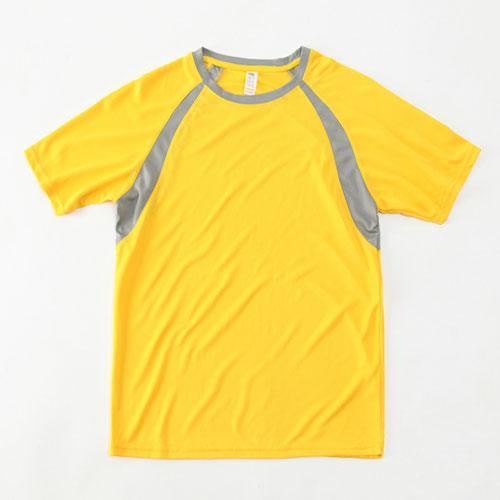 EBAYTA 150g運動快乾(設有童裝至成人碼)短袖圓領插肩T恤