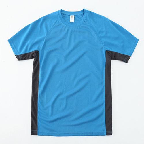 EBAYTA 150g運動快乾成人短袖圓領拼色T恤